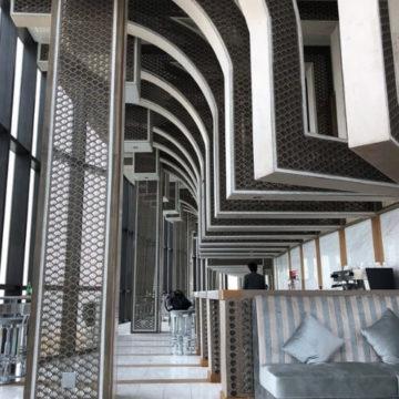Sky bar Holiday Inn Hua Hin Thailand